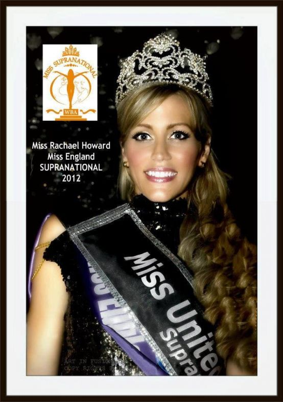 Miss England Miss UK SUPRANATIONAL copy