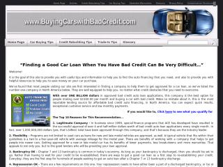 BuyingCarswithBadCredit.com