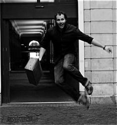 Dan Coyle in Amsterdam, 2011