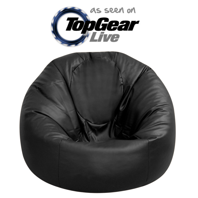 Faux Leather XXL Bean Bag Chair - As Seen on Top Gear Live!