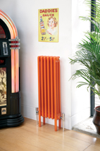 Colori radiator in orange