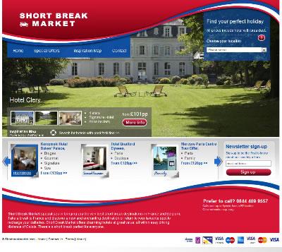 Short Break Market Screen shot