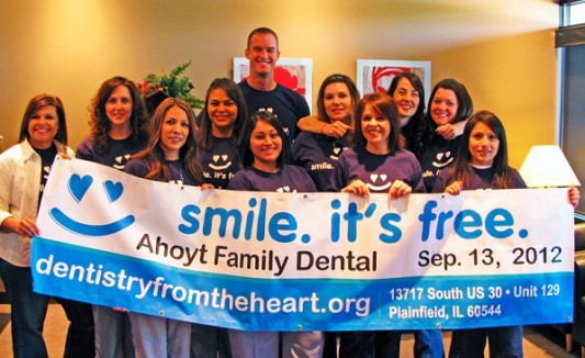 Ahoyt Family Dental, Plainfield dental office
