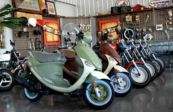 Genuine Buddy Scooters at Pro-One Motorcycles