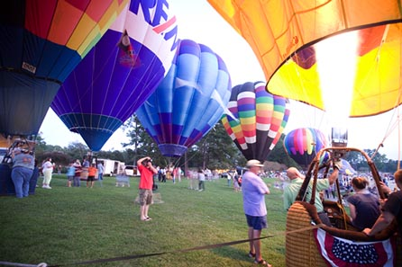 Callaway Gardens Sky High Hot Air Balloon Festival