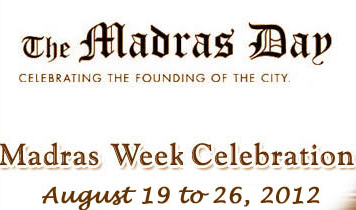 Madras Week Celebrations 2012