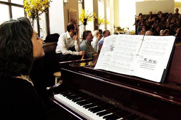 Member-sponsored debut concert at ArtsWestchester, March 2012