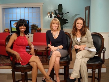 Candace on Daytime with Host Cyndi and Lindsay