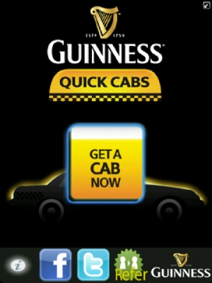 Guinness Quick Cab App Screen_20120821_13342