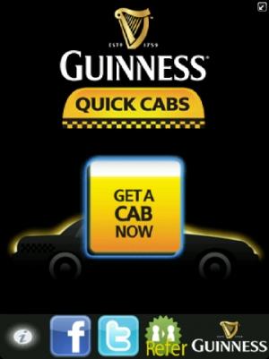 Guinness Quick Cab App Screen_20120821_13342