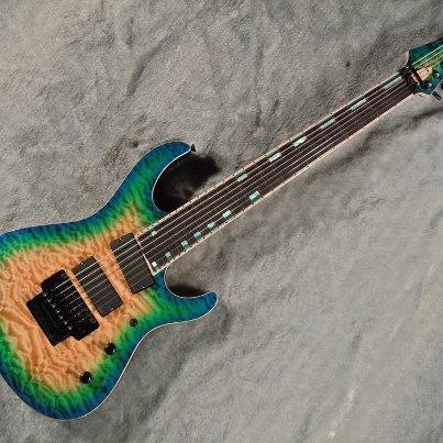 The McNaught XD727 Xander Demos Signature Guitar