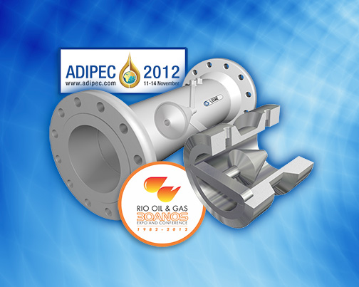 McCrometer Exhibits at ADIPEC 2012 and 2012 Rio Oil & Gas Expo