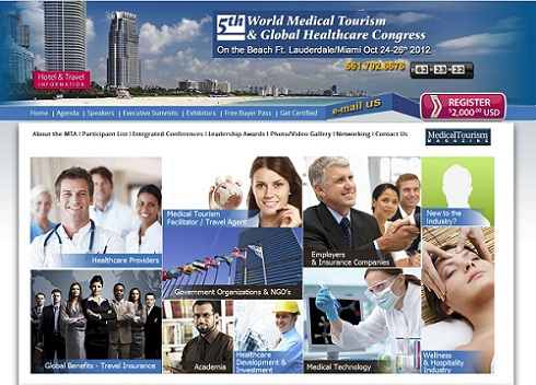 Medical Tourism Congress Website Extreme Makeover