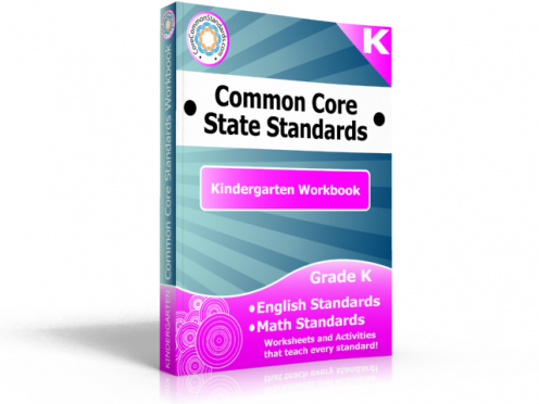 Kindergarten Common Core Standards Workbook