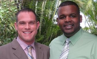 Zack Coblens (L)  and Daniel Cochran(R)