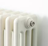 Air vent on a Creamery radiator