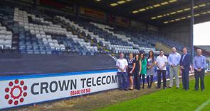 Crown Telecom sponsor Rochdale AFC