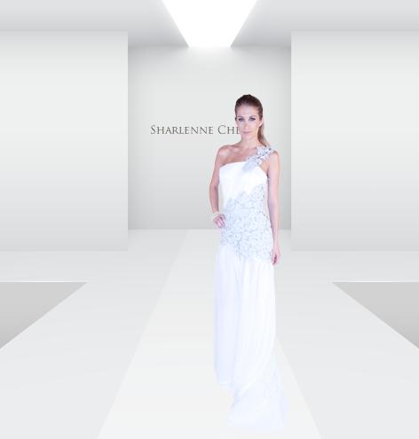 Designer Sharlenne Chen , Photo by Arvin Doria ,  Model  Lucy Cronkite