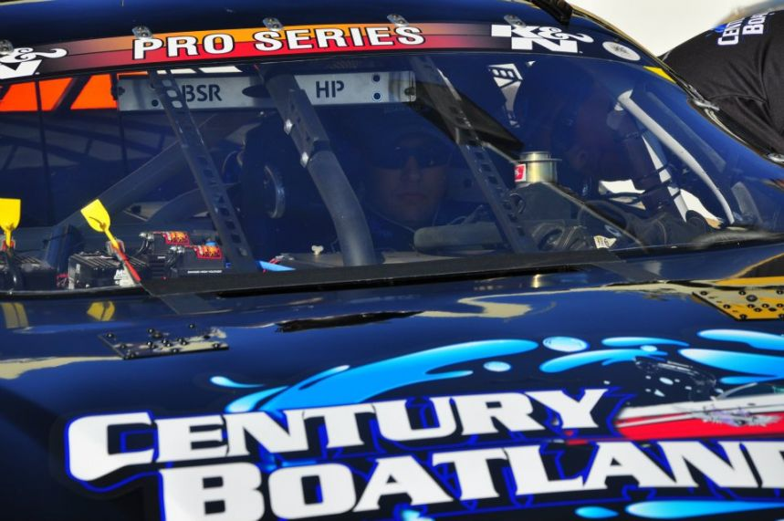 Jonathon Gomez, #22 NASCAR K&N Pro Series Century Boatland Checrolet