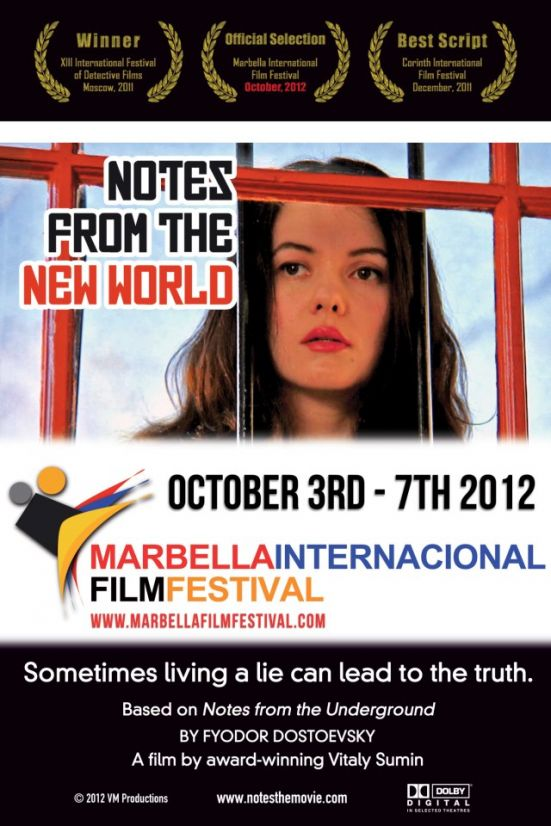 Notes From The New World Movie Poster Starring Natasha Blasick