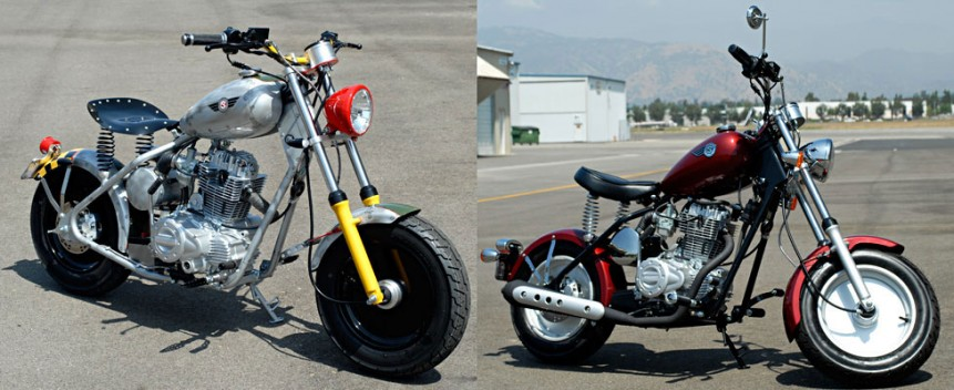 Custom and Stock CSC 250cc P-51 Classics