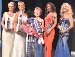 2012 Ms. Senior California Top Five Winners