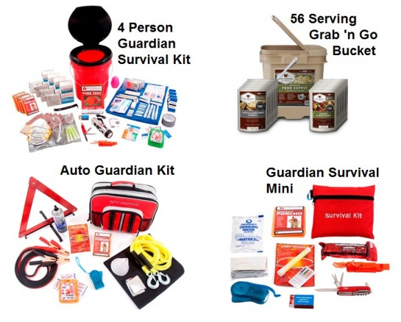 PPK4 - Guardian Family Preparedness Package with F