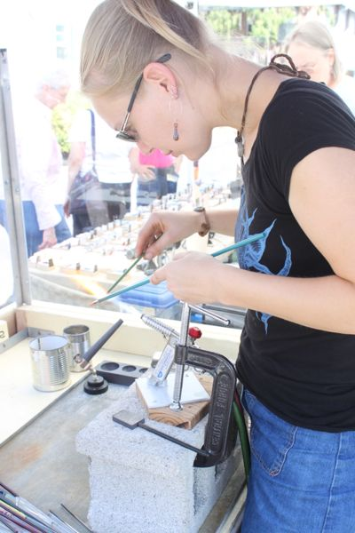 Artists will demonstrate their talents on September 8-9 in Dublin, Bucks County.