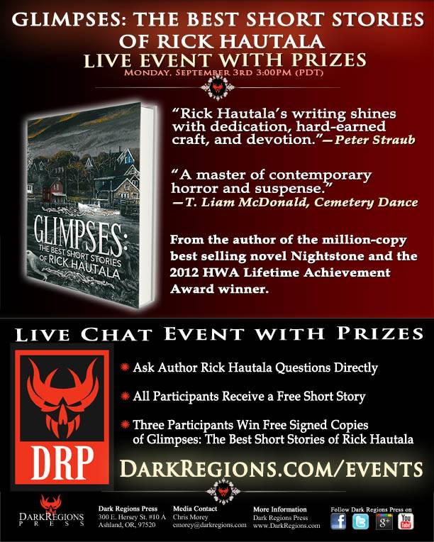 Live Author Event Ad Flyer