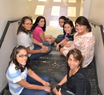 Students from Centro Universitario Jorge Anado, Brazil, studied in New York