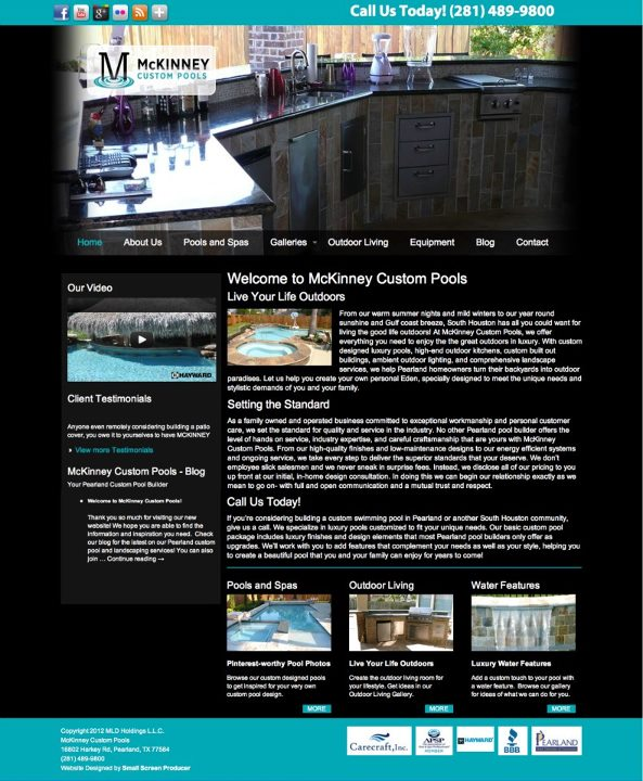 McKinney_Custom_Pools_Website.
