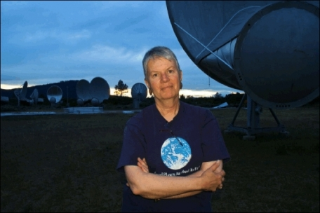 Dr. Jill Tarter, scientific leader of SETI's Allen Telescope Array.