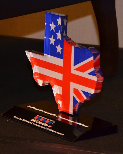 BABC International Business Award Trophy