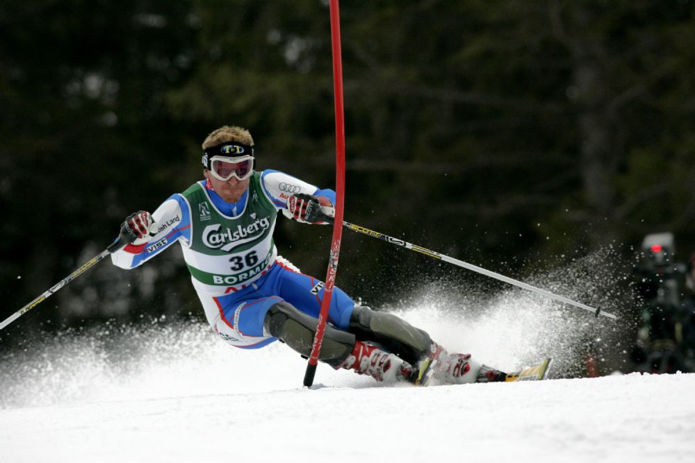 Alain Baxter - Patron of Ski 4 Cancer