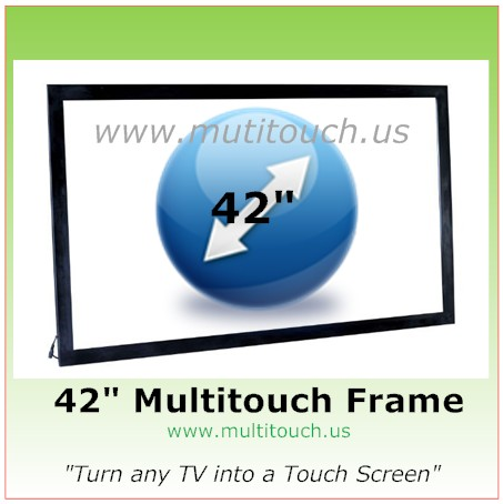 MultiTouch Frame Size