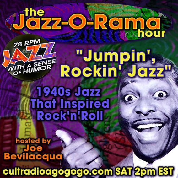1940s Jazz That Inspired Rock'n'Roll - Saturday, August 31, 2 pm (ET) -on CRAGG
