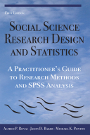 Social Science Research Design and Statistics Book