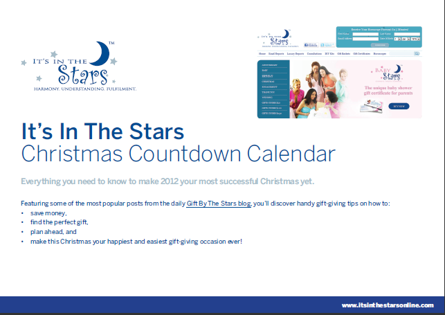 Save money and time with the Christmas Countdown Calendar