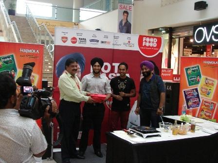 Mr. Rajendra Prasad, Centre Head, AlphaOne giving