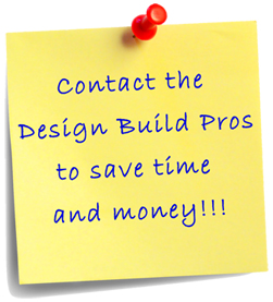 Design Build Pros saves you time & money
