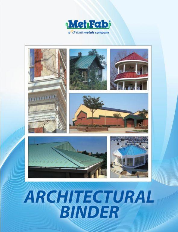 Architectural binder