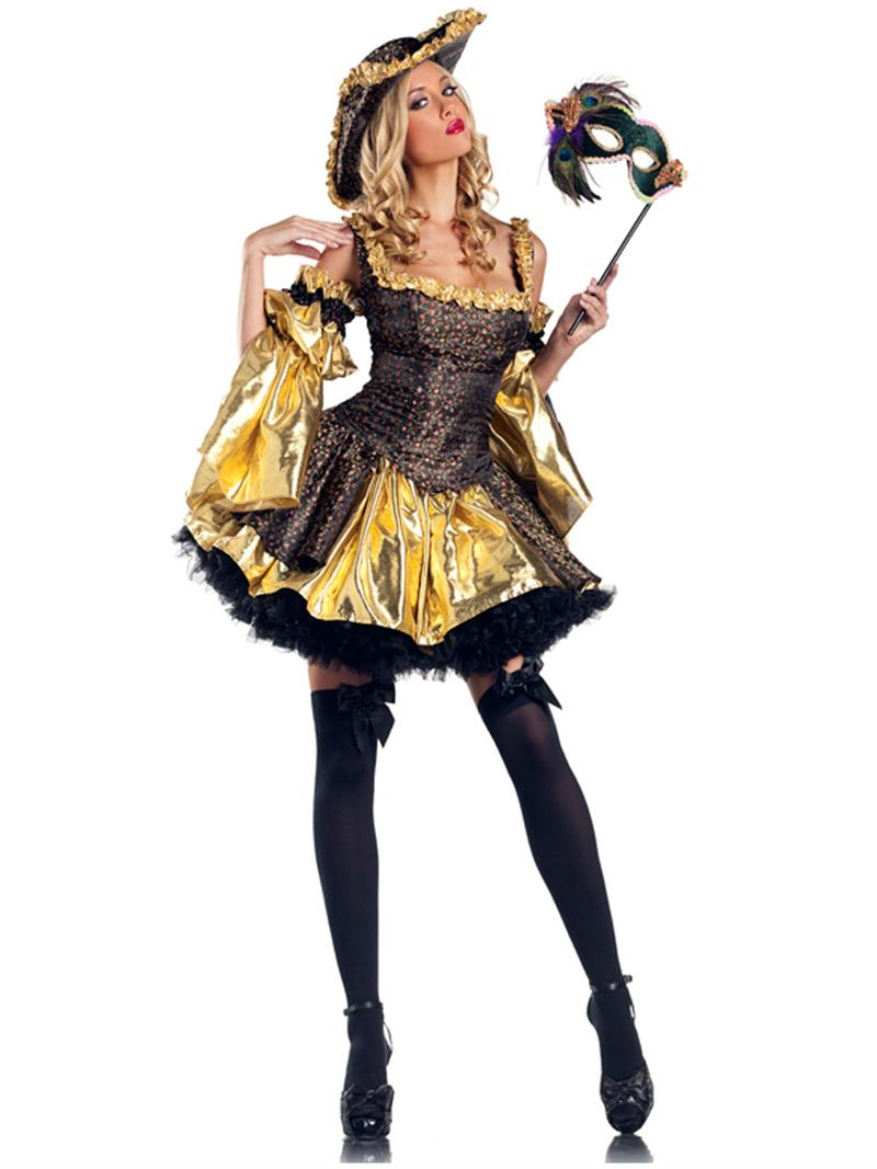 BeWicked Black Antoinette Halloween Costume