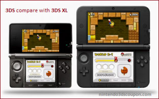 Nintendo 3DS XL Coupon Code on September and October 2012