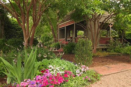 Beautiful gardens at Mr. Cason's Vegetable Garden at Callaway Gardens