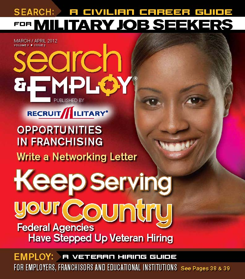 Search & Employ March/April 2012 issue, featuring franchise opportunities