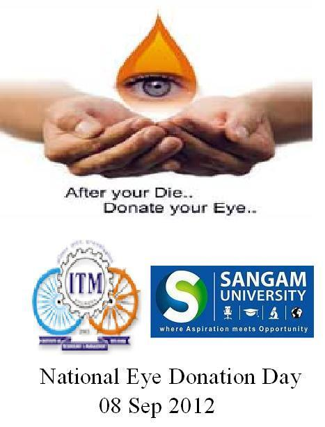 essay on eye donation india Eye donation fortnight celebrations - 2018 inaugural  press note  on essay writing competitions held press note on  nearly 30 lakh people are  corneal blind in india out of which half of them are children in the present.