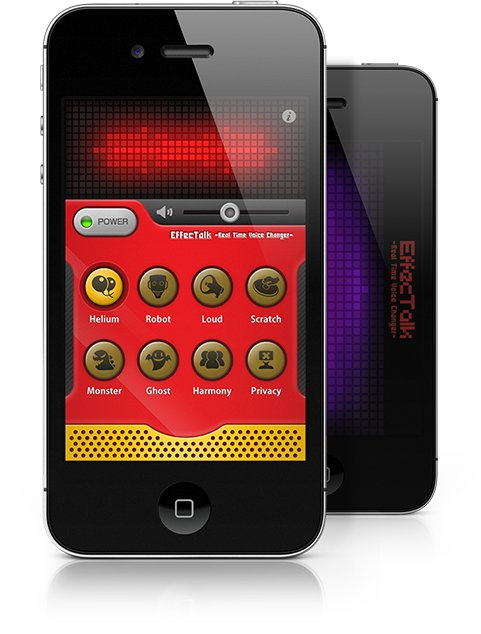 EffecTalk on iPhone