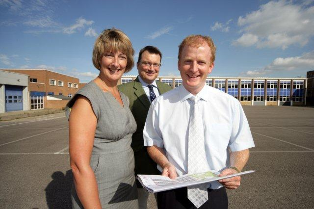 Liz Fuge , Paul Bagshaw and James Wilson at Radar Road, Leicester