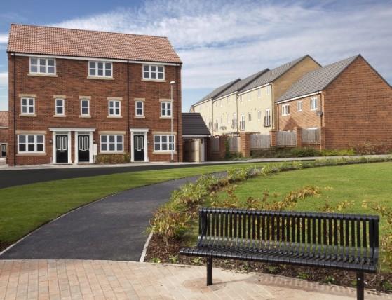 Miller Homes' Brooklands Development, Gainsborough