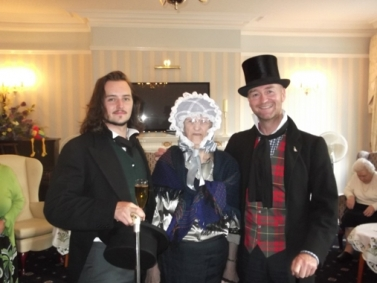 A King's Court resident meets Hablet Browne and Charles Dickens.
